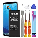 Galaxy S8 Battery ZURUN 3300mAh Li-Polymer Battery EB-BG950ABE Replacement for Samsung Galaxy S8 G950V G950A G950T G950P G950R4 with Screwdriver Tool Kit | S8 Battery Replacement Kit [2 Year Warranty]