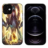 VNOS iPhone 12 Pro Max Case,Soft Slim Flexible TPU Cover Case,League of Legends - Maven of The Strings - Sona