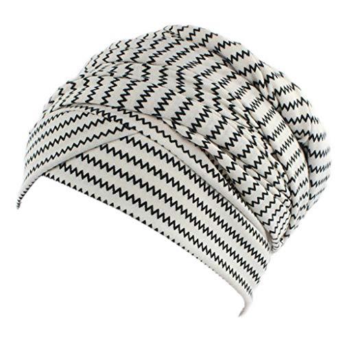 Sombrero turbante para mujer de la marca Mdhsh, estilo hindú, elástico y colorido