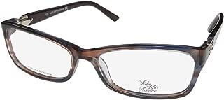 Saks Fifth Avenue 271 Womens/Ladies Designer Strass Spring Hinges Contemporary Eyeglasses/Eye Glasses