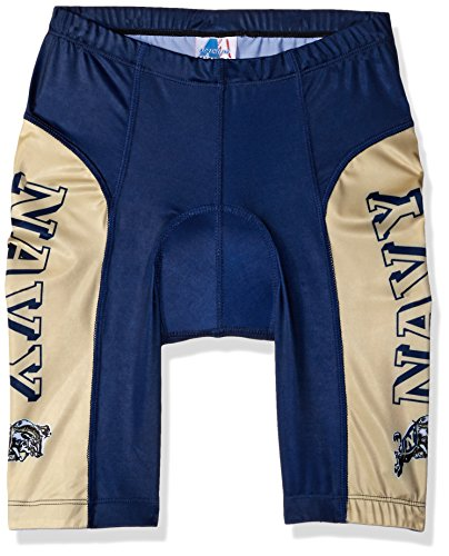 Adrenaline Promotions NCAA Unisex Adult Navy Midshipmen Cycling Short (Small)