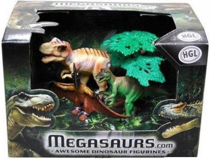 Gen 13 Coffret de 3 Dinosaures - Animaux prehistorique - 4340009a