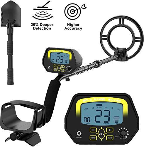 sakobs Metal Detector,High Accuracy Adjustable Waterproof Metal Detectors for...