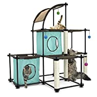 Kitty City Claw Mega Kit Cat Furniture, Cat Condo Collection, Cat Toy, Cat Tree