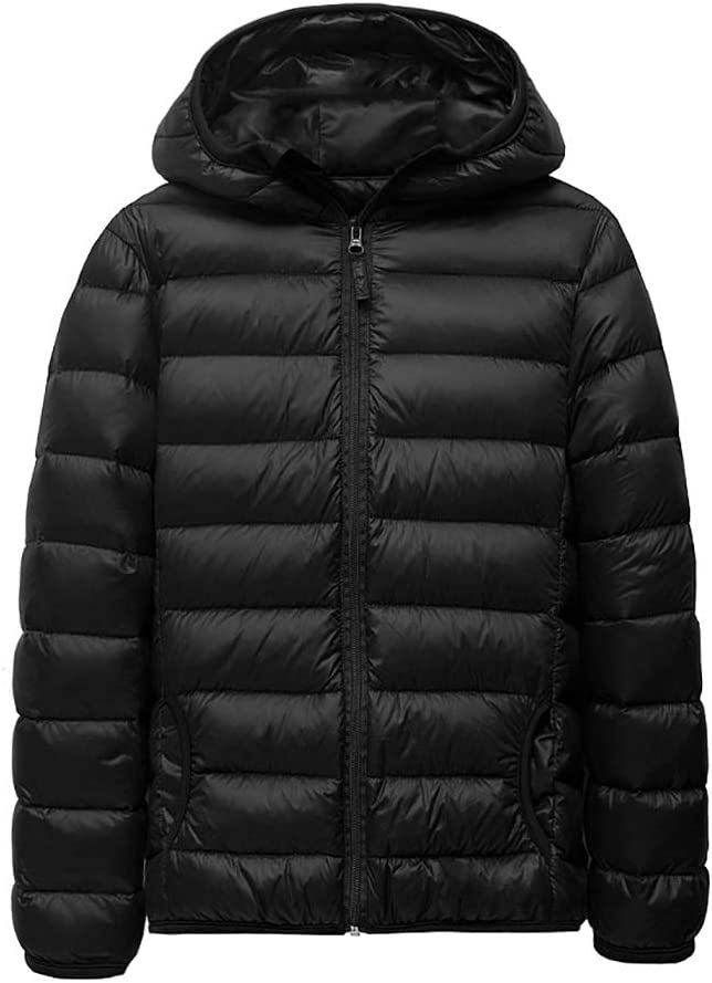 Warm Clothes Boys' Outerwear Jackets Coats Puffer Jacket with Hood Parkas Kids Outdoor Thicken Winter Jacket Universal (Color : Red|,| Size : XX-Large)