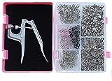 RERI Druckknopf Set mit Zange, Φ11mm 200 Stück