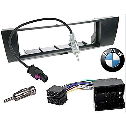 Kit de montaje marco para radio adaptador autorradio 1 DIN BMW 1 / BMW 3 /