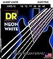 Electric Guitar Strings, Hi-def Neon White (NWE-10)