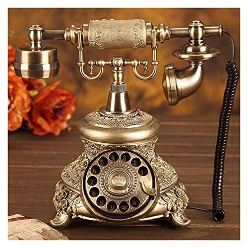 LBBZJM Teléfono Teléfono Teléfono Teléfono Continental Continental Teléfonos Antiguos Teléfonos Rotativos Hogar Antiguo Teléfono Vintage Teléfono Fijo Teléfono Home Rotary Teléfono, Estudio, Hotel