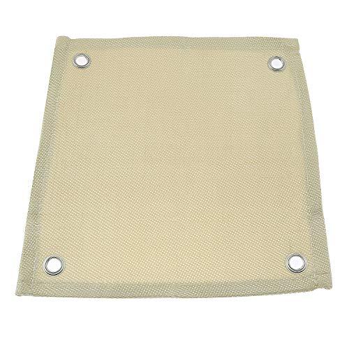 ZYAMY Hands-Free Heat Shield Welding Pad High Temp Heat Resistant Cloth Fiberglass Blanket Protective Fire Resistant Mat 12