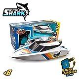 Xtrem Raiders White Shark, radiocontrol, Lancha Agua, teledirigido Alta Velocidad, Juguete para...