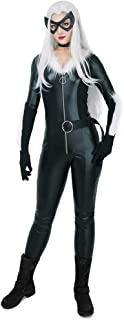miccostumes Women's Black Cat Cosplay Costume Bodysuit with Mask and Choker