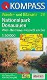Nationalpark Donauauen 1 : 50 000. Wander- und Bikekarte. Wien, Bratislava, Neusiedl am See. GPS-genau