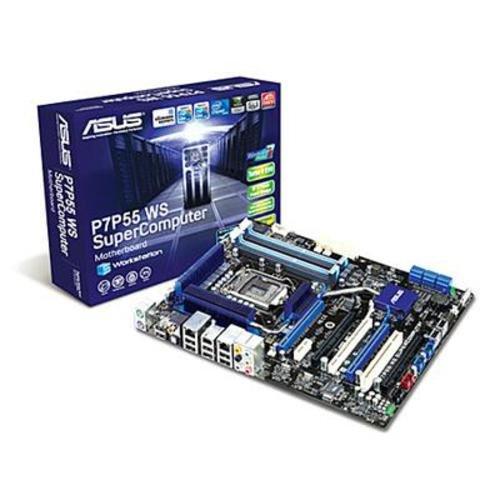 Asus P7P55 WS SuperComputer Mainboard Sockel 1156 Intel P55 16GB DDR3 Speicher ATX
