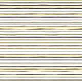 Hans-Textil-Shop Stoff Meterware Bunte Streifen Stripes Baumwolle - 1 Meter, Kinder, Kleidung, Deko (Weiß)