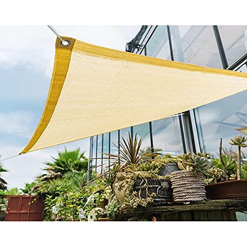 Dysetcs Toldo rectangular de 3,3 x 6,5 cm, impermeable, toldo de tela para patio, cochera, patio trasero