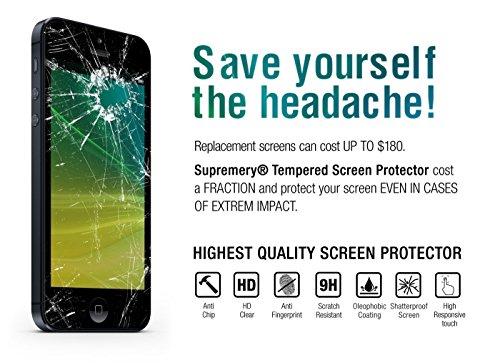 Supremery Bildschirm Glas Folie für Huawei MediaPad M5 (10,8 Zoll) Schutzfolie Panzerglas extra Hart gegen Kratzer und Stürze - Blasenfrei HD Clear (Premium Qualität) - 5