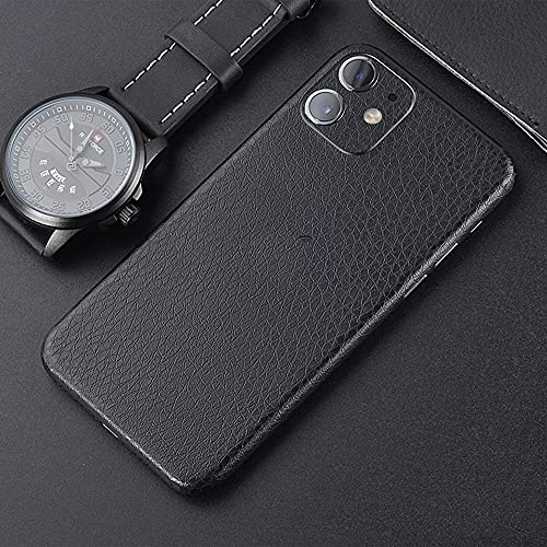 Ultra-Thin Skin Wrap for iPhone 11 ,Tectom Leather Strip Full Edge Sides Back Protective Skins Sticker Decals for iPhone 11