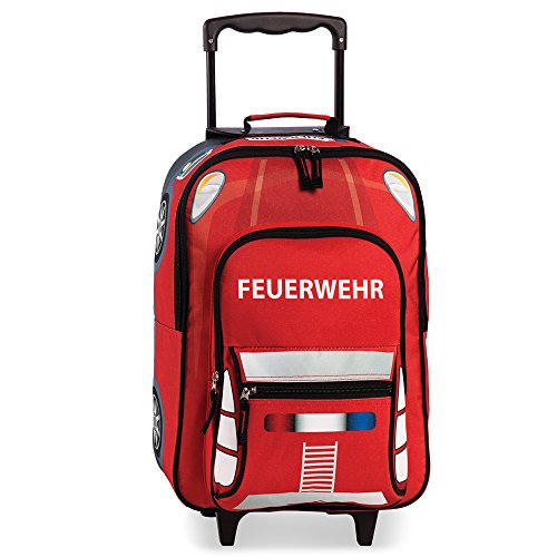 Brandweer - kindertrolley kinderkoffer kinderbagage trolley koffer - 20517-0200