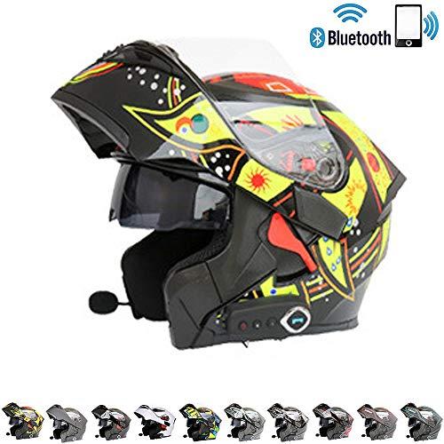 Casco de moto con blueetooth integrado