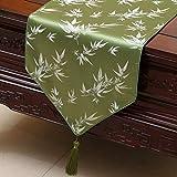 Corredores de mesa Table Runner - Mantel bordado clásico chino Minimalista elegante Bandera de mesa...