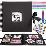 Inicia 30x30 cm Kit Álbum de Fotos Scrapbook Recortes para Pegar con 5 Bolígrafos...