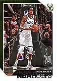 2018-19 NBA Hoops Basketball #54 Thon Maker Milwaukee Bucks Official Trading Card made by Panini