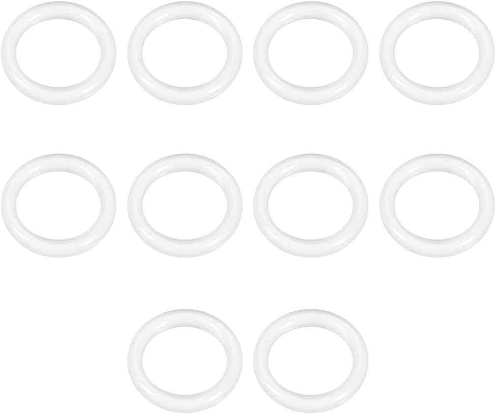 uxcell Silicone O-Ring 14mm OD 10mm Ri VMQ Popularity 2mm New sales Seal Width ID