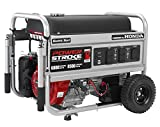 PowerStroke PS906811P, 6800 Running Watts/8500 Starting Watts, Gas Powered Portable Generator