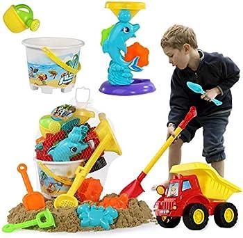 11-Pieces Temi Beach Sand Toys Set