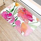 rzskdjgv Colorful Flower Printing Letter Pattern Kitchen Entrance...