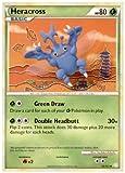 Pokemon - Heracross (43/123) - HeartGold SoulSilver - Reverse Holo