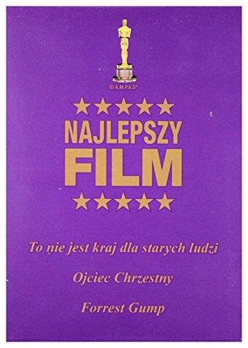 Najlepszy Film: To Nie Jest Kraj Dla Starych Ludzi, Ojciec Chrzestny, Forrest Gump [BOX] [3DVD] (Keine deutsche Version)