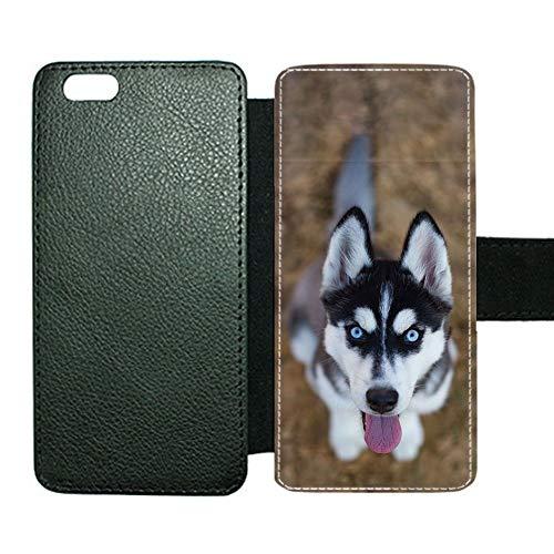 Desconocido Generic Compatible For Cubiertas De La Caja De La Ranura Impresión Siberian Husky 4 Niños A Prueba De Golpes 4.7inch iPhone 6/6s