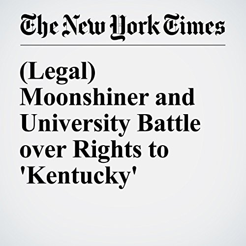 (Legal) Moonshiner and University Battle over Rights to 'Kentucky' cover art