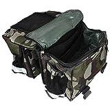 Auto Hub Waterproof Bike Twin Saddle Bags (Jungle Print)