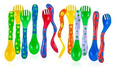 Nuby Fun Feeding Spoons & Forks