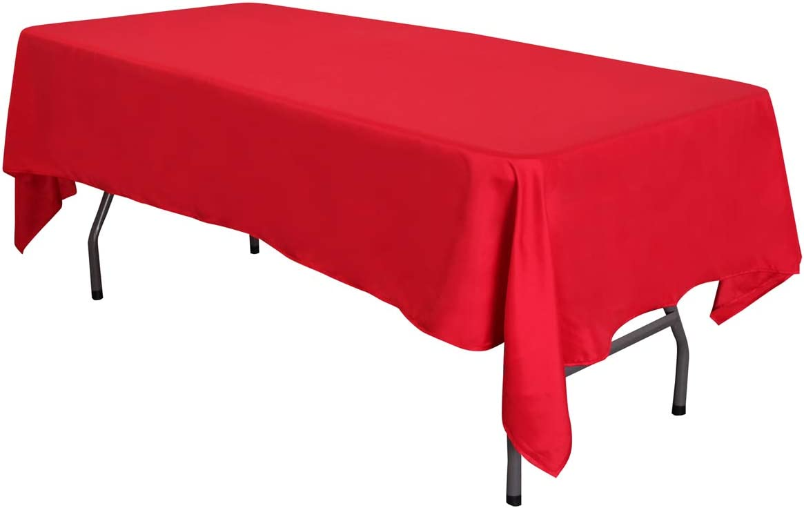 LOVWY 58 x 126 Inches 35% OFF Tablecloth Rectangular Seamle Satin Fabric online shopping