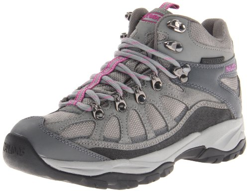 Nevados Women's Fissure Mid Waterproof V1207W Hiking Boot,Dusk/Steel/Black/Meadow Mauve,6 M US