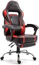 Mahmayi 590 Gaming Chair High Back Computer Chair PU Leather Desk Chair PC Racing Executive Ergonomic Adjustable Swivel Ta...