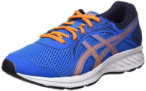 ASICS Unisex-Child Jolt 2 Running Shoe, Directoire Blue/Orange Cone,35 EU