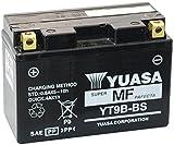 MIM Distribution Batteria YUASA YT9B-BS per Yamaha YZF R6 (RJ03/RJ05/RJ09) 600 2001-2005 12V 8 Ah con Acido