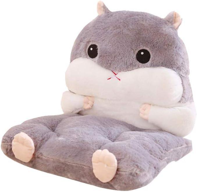 LIOOBO security Cute Soldering Hamster Chair Cushions - Lumbar Cushion Su Seat with