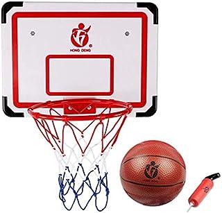 SONGYU-Panier Basket Hanging Conseil De Basket-Ball Extérieur Mural Basketball Rack Adulte Cadre De Tir avec Balle De Bask...