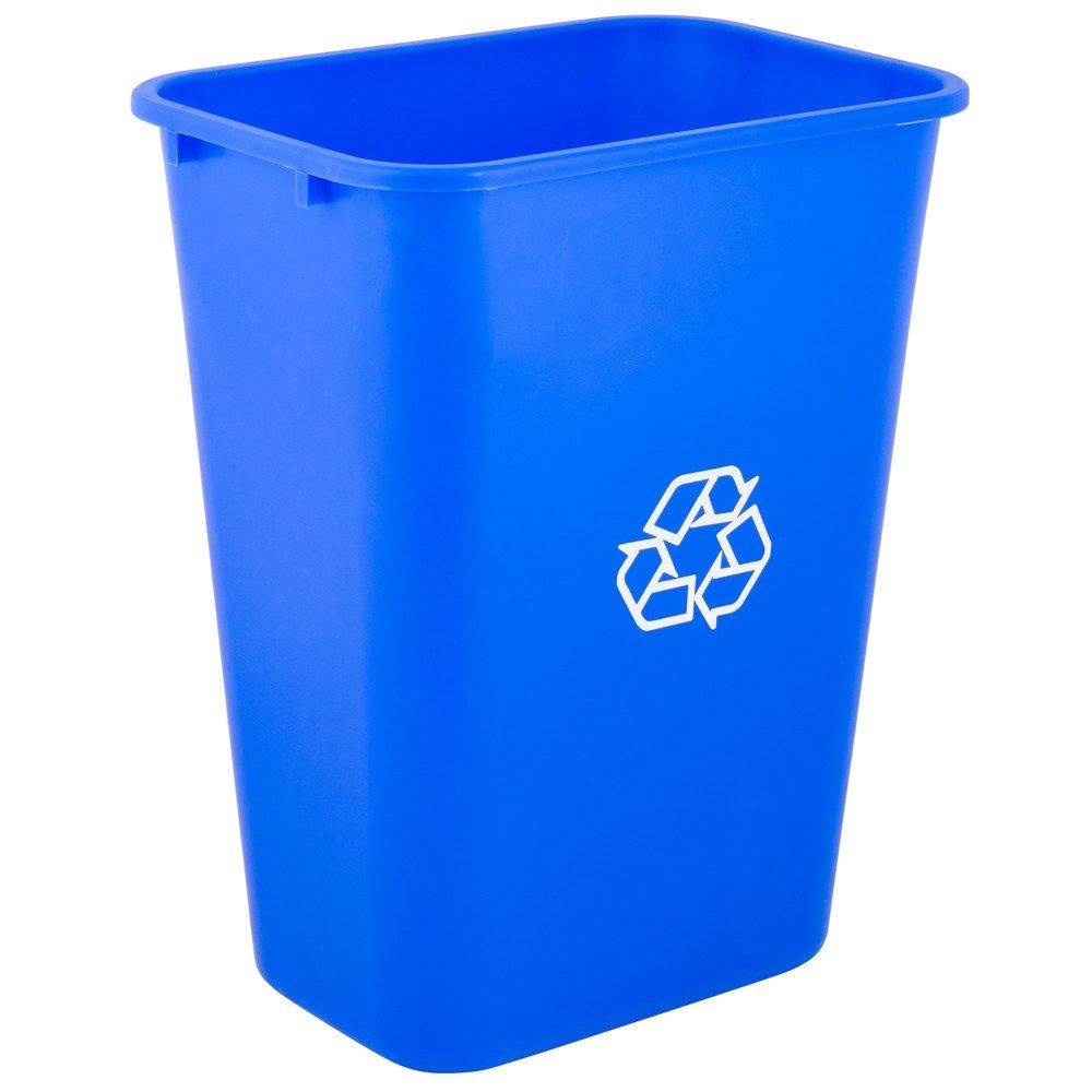5 Pack 41 Ranking TOP17 Qt. Elegant 10 Gallon Rectangular Blue Liters Recyclin 38