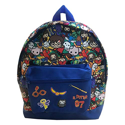 Harry Potter Kids Charms Roxy School Travel Bag Rucksack Backpack