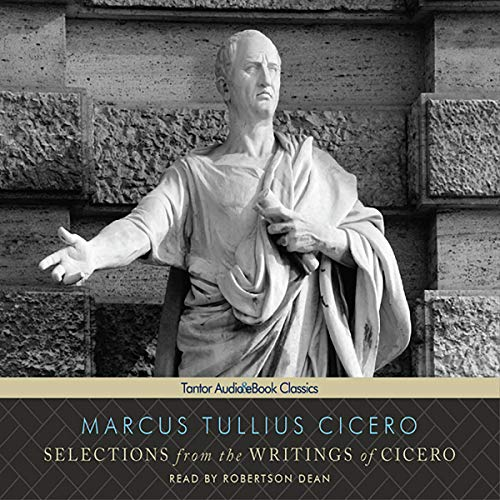 Selections from the Writings of Cicero cover art