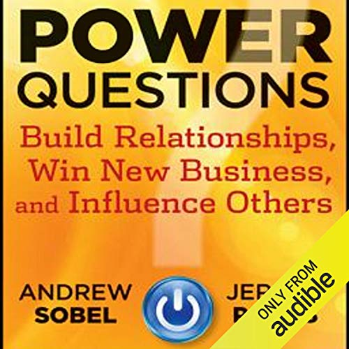 Power Questions audiobook cover art