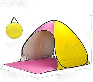 Automatiskt omedelbart pop-up tält bärbar strandtält lätt utomhus UV-skydd camping fisketält Cabana solskydd 2021