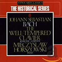 J.S.BACH/ THE WELL TEMPERED CLAVIER BOOK ONE